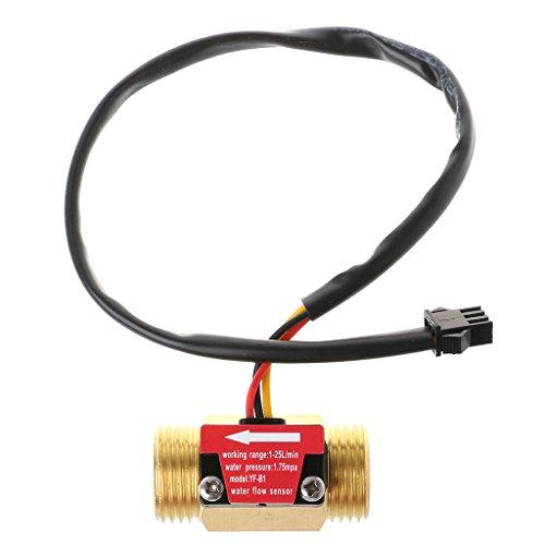 - Qisuw Water Flow Sensor G1/2'' Water Flow Hall Sensor Switch 1-25L/min Flow Meter/Flowmeter