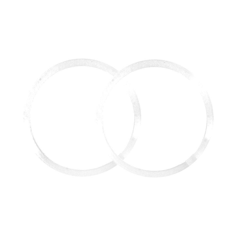 Printed Bag Polyethylene Beveled Washers 1-1//4 Display Box Ind