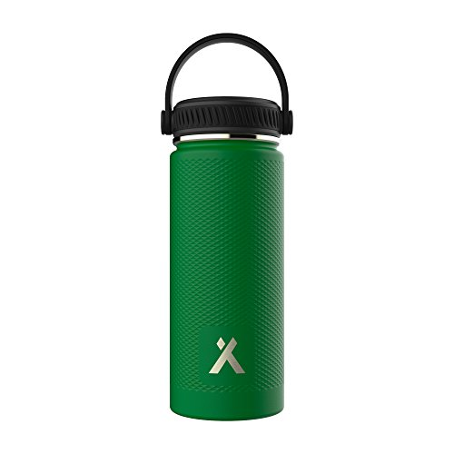 Thermal Vacuum Bottle - Bear Grylls Triple Wall Vacuum Insulated Water Bottle for 12 Hours Hot | 24 Hours Cold, BPA Free