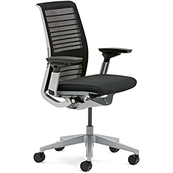 Lovely Steelcase 465A300 5064 3D Knit Think Chair, Licorice Idea