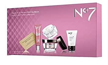 New Valentine Gift No7 Restore Renew Multi Action Collection For