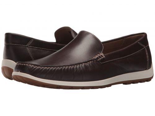 ECCO(エコー) メンズ 男性用 シューズ 靴 スニーカー 運動靴 Dip Moc - Mocha [並行輸入品] B07C8GHQLH