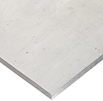 RMP 6061-T651 Aluminum Sheet 12 Inch x 12 Inch x 3/8 Inch Thickness