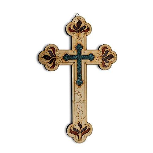Decorative Wooden Crosses (Most Popular Wooden Christian Vintage Cross 8.8