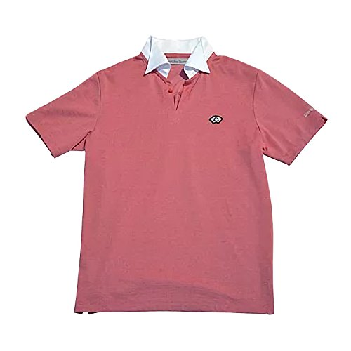 Japanese Mino Washi Paper Polo Shirt Made In Gifu, Japan, Red Color, L by Gifu Shirt