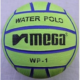 Mega agua bola de polo – verde tamaño 1: Amazon.es: Deportes y ...