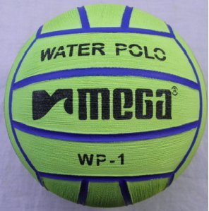 Mega Water polo Ball–verde taglia 1