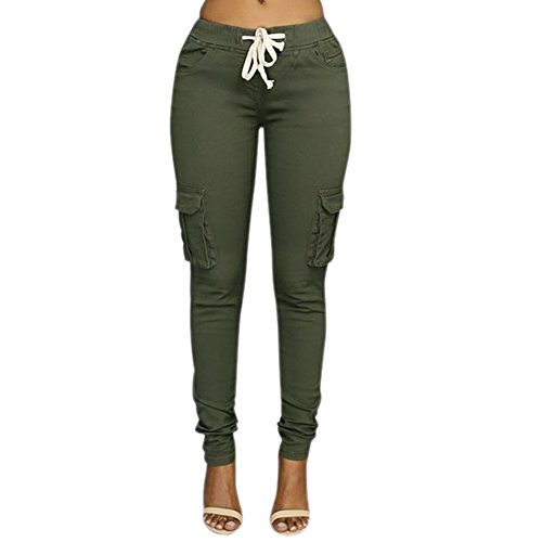 Lisli Women Solid Stretch Skinny Legging - Pencil Cotton Women Trousers Shopping Results