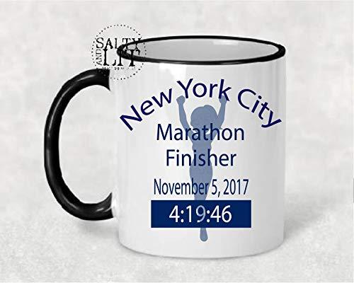 Girl Runner Nyc Marathon New York Marathon Runners Coffee Mug Marathon Mug 262 Oh Yes I Did Athletic (Nyc Marathon Runners)