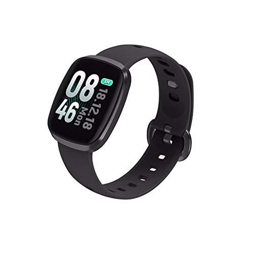 CZYCO HD Full Screen Horizon Smart Watch Sports Fitness Activity Heart Rate Tracker Blood Pressure Calories(Black)