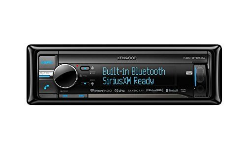 Kenwood KDC-BT858U In-Dash 1-DIN CD/MP3 Receiver with Bluetooth (Kenwood Home Theater Receiver)