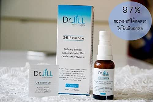 3 Unit X Dr.jill G5 Essence Whitening Anti-aging Moisturizing Skin, Doctor Solutions Whitening, Anti-aging, Moisturizing, Skin. Smooth and Antioxidant and Provides Quick Results.