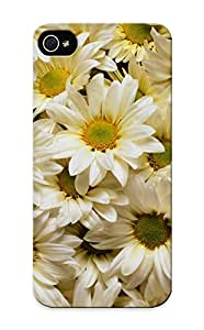 Ellent Design Daisies Phone Case For Iphone 5/5s Premium Tpu Case For Thanksgiving Day's Gift