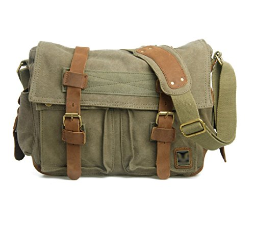 nasis-canvas-dslr-camera-gadget-organizer-multi-compartments-shoulder-bag-cross-body-bag-al4028-gree