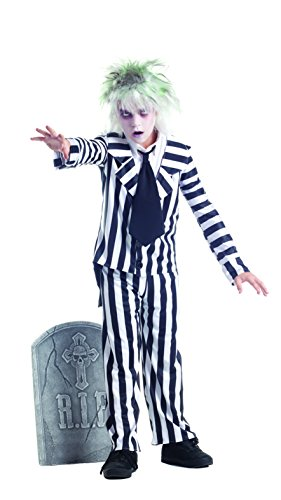 Party King Graveyard Ghost Child Costume, -