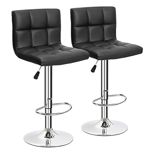 Leather Counter Height Bar Stools: Amazon.com