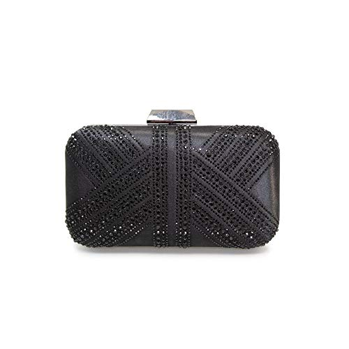 Diamante Bag Ruth Womens Lunar Womens Black Lunar Clutch qTwRTOxIf