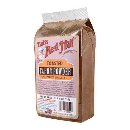 Bob's Red Mill Carob Powder Toasted, 18-ounces (Pack of4)