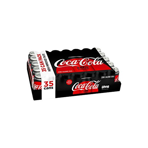 Coca-Cola Coke Zero Cans, 12 Ounce [35 Cans] from Coca-Cola