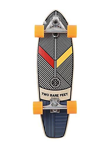"Two Bare Feet TBF #829 Complete Carving Skateboard 29"" x 8.5"" Cruiser Skateboard (829 Aztec)"