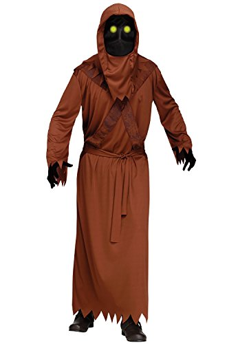 Fun World Men's Fading Eye Desert Dweller, Brown STD. Up to 6' / 200 lbs.