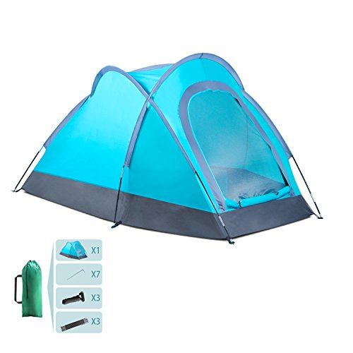 Lightweight Backpacking Tents 2 Person for Hiking Camping Fishing Waterproof for 3 Seasons (2-3 person)