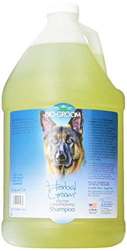 (Bio-Groom Herbal Groom Puppies and Kittens Conditioning Shampoo, 1-Gallon)