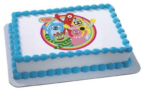 Yo Gabba Gabba Dancey Dance Personalized Edible Image Cake Topper
