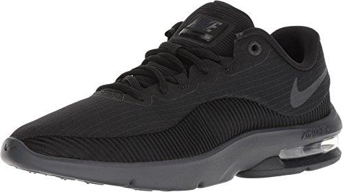 Advantage 002 - Nike Men's Air Max Advantage 2 Black/Anthracite Running Shoe 12 Men US
