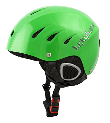 Lucky Bums Snow Sport Helmet, Green, X-Large