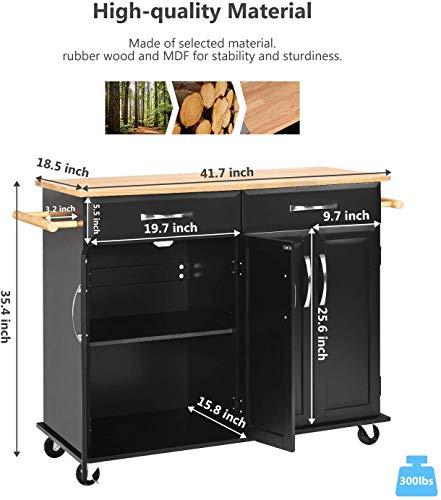 Kitchen Kitchen Islands with Storage, Kitchen Carts and Islands Rolling Kitchen Island Storage Cabinets on Wheels with Drawers… modern kitchen islands and carts