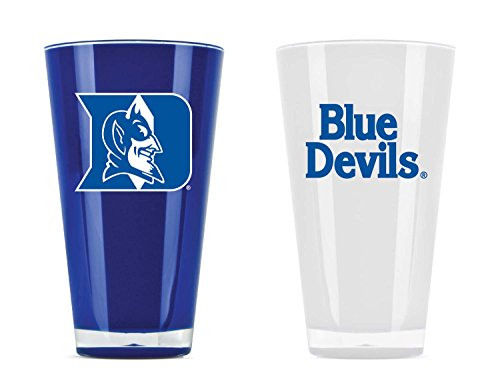 Fan Duke - NCAA Duke Blue Devils 20oz Insulated Acrylic Tumbler Set of 2