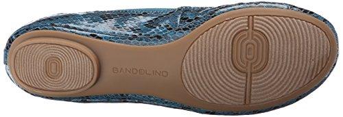 Bandolino Womens Edition Ballet Synthétique Plat Bleu / Vert