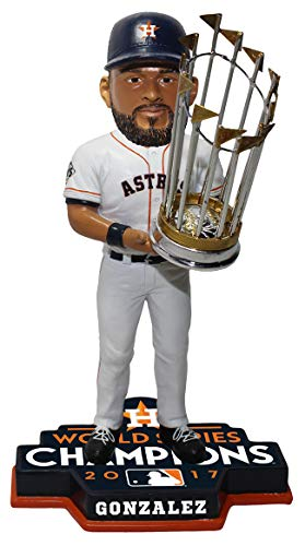 Forever Collectibles Marwin Gonzalez Houston Astros 2017 World Series Limited Edition Bobblehead MLB