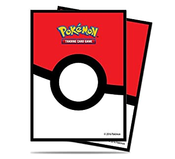 Ultra Pro 14575 - Pack de 65 Fundas para Cartas Pokémon con Estampado de Pokeball