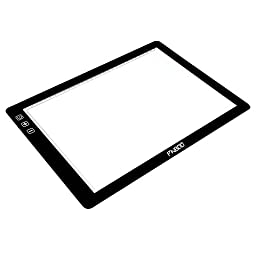 PNBOO PA3 24\'\' (Diagonal Length) Ultra Thin(7mm) Tracing Light Box with 10 PCS A3 Sheets and 1 Drawing Glove