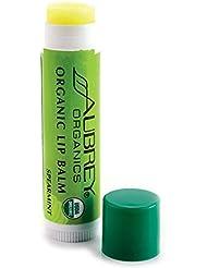 Treat em right organic lip balm - Spearmint Aubrey Organics 0.15 oz Balm