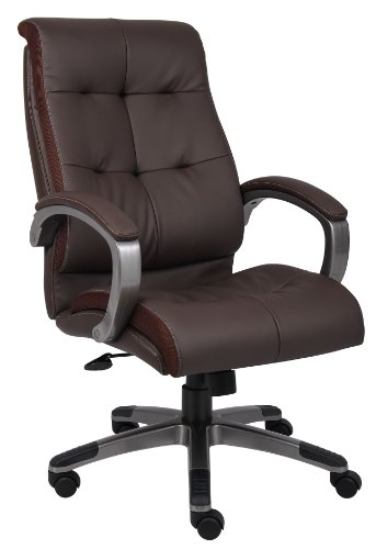 boss-office-products-b8771p-bn-double-plush-high-back-executive-chair-in-brown