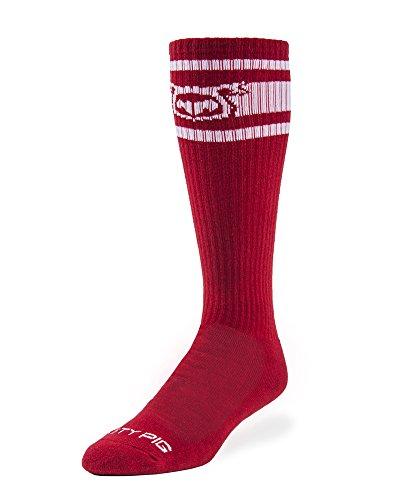 Nasty Pig Hook'd Up Sport Socks 2.0 (Red)