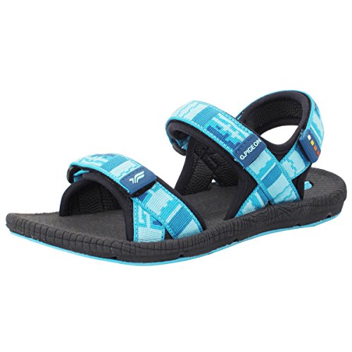GP5931 Unisex Outdoor/Water Sandals: 8658 Black Lt. Blue, EU39
