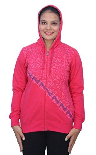 Romano - Sweat-shirt - À logo - Col Chemise Classique - Manches Longues - Femme Rose Rose