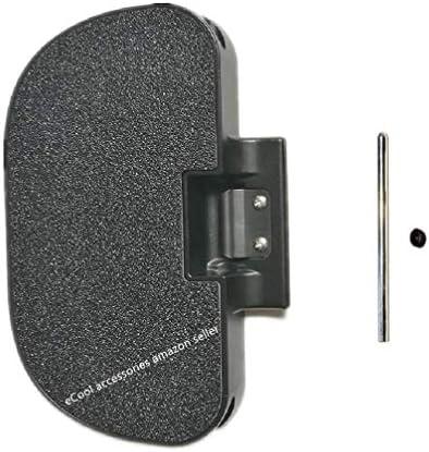 eCool accessories Grande pédale à l'unité avec kit de Fixation pour KingSong KS18XL
