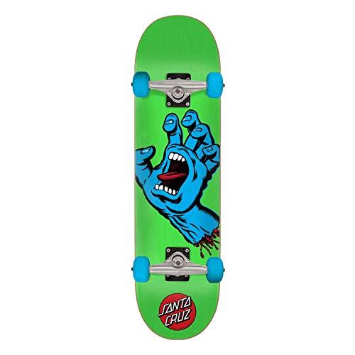 "Santa Cruz Skateboard Complete Screaming Hand 7.5"" x 30.6"""