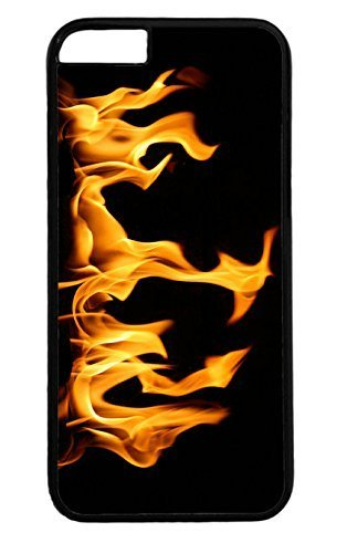 Active Hot Fire PC Black Case for Masterpiece Limited Design iPhone 4 4s by Cases & Mousepads