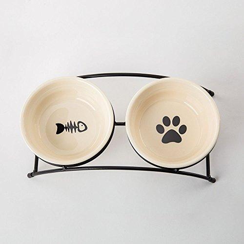paw print dog dish - 3