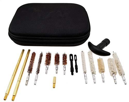 Wydan Universal Pistol Gun Cleaning Kit, Shotgun Cleaning Kits (.22 .357 .30 .38 .40 .44 .45 Caliber 9mm)