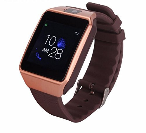 ... Watch Cell Phone with Sim Card Slot, Smart Wrist Watch, Smartwatch for Android Samsung iOS iPhone Smartphones (Black): Cell Phones & Accessories