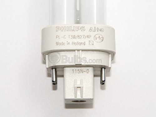046677110727 - Philips Lighting 38325-7 - PL-C 13W/827/4P/ALTO - 13 Watt CFL Light Bulb - Compact Fluorescent - 4 Pin G24q-1 Base - 2700K - carousel main 4