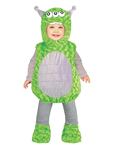 Fun World 115901S Li'l Alien Toddler Costume, Small, Multicolor -