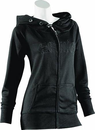 Etnies Damen Pullover SADIE 2 ZIP, black, S